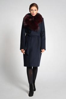 пальто Gotti 117-33м тёмно-синий