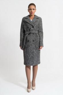пальто Gotti 153-7у серо-черная_