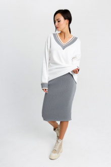 юбка EV&ES 26 серый