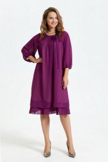 платье TEZA 2683 фиолетовый