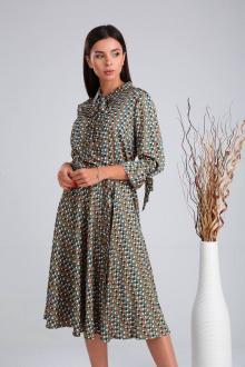платье Verita 2014 зеленый
