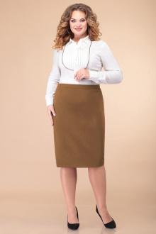 юбка Линия Л Ю-20 бежево-коричневый