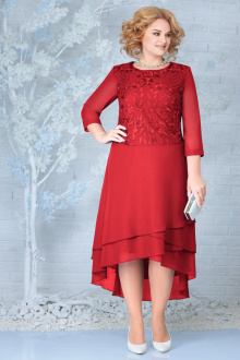 платье Ninele 5853 красный