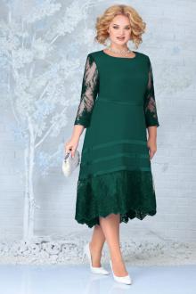 платье Ninele 5855 изумруд