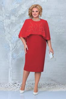 платье Ninele 7337 красный