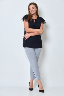 блуза БелЭкспози 1344-1 черный
