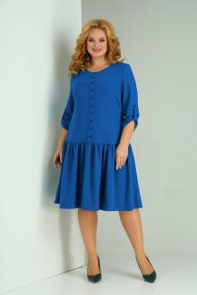 платье SOVITA M-2129 василек