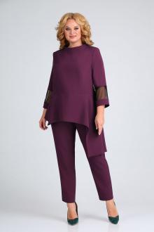 блуза,  брюки ELGA 12-717 слива
