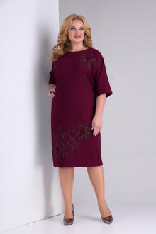 платье SOVITA M-2130 бордо