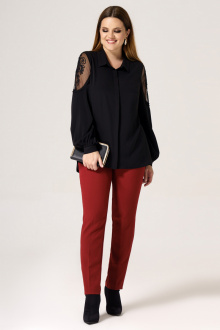 блуза Панда 24240z черный