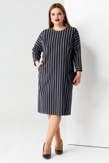 платье Панда 51187z серо-черный
