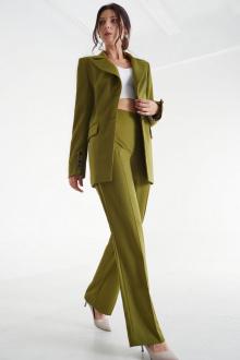 брюки,  жакет MALI 721-081 олива