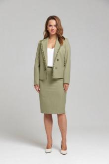жакет,  юбка SandyNa 130504 олива
