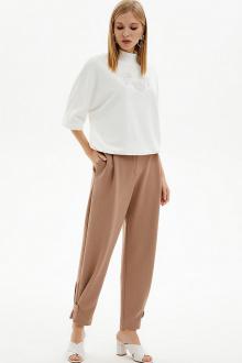 брюки Moveri by Larisa Balunova 3078BL бежевый