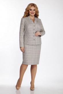 жакет,  юбка LaKona 1059 песочно-серый
