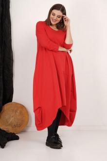 платье GRATTO 8118 красный