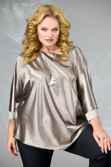 блуза Angelina & Сompany 591 бежевый