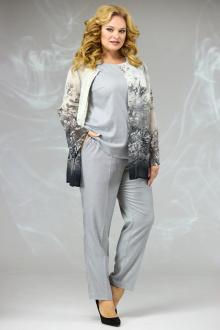 блуза,  брюки,  майка Angelina & Сompany 582 черная_накидка