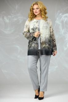 блуза,  брюки,  майка Angelina & Сompany 582 бежевая_накидка