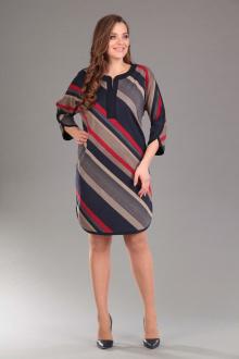 Lady Style Classic 1192/1 темно-синий_красный
