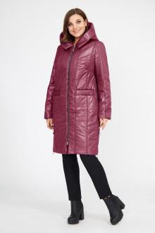 пальто Магия Стиля М-2256 бордо
