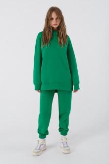 брюки, худи PiRS 1525 зеленый