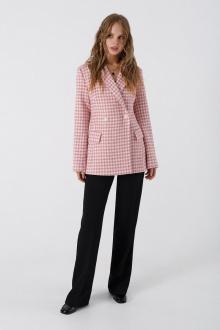 брюки,  жакет PiRS 1970 розовый+черный