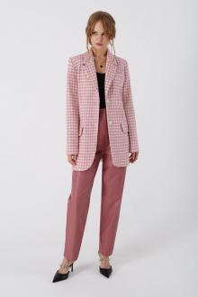 брюки,  жакет PiRS 3378 розовый