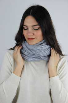 шарф Полесье С4091-20 0С2201-Д43  серый