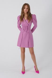 платье PiRS 3381 розовый