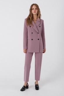 брюки,  жакет PiRS 3383 серо-розовый