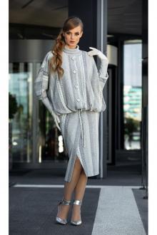 водолазка,  куртка,  юбка Diva 1345-1 серый