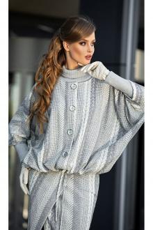куртка Diva 1347-1 серый