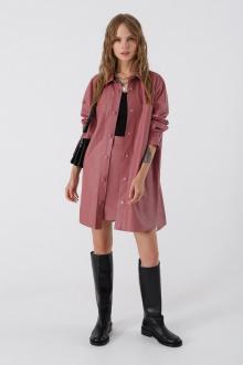 рубашка,  топ,  юбка PiRS 3395 серо-розовый