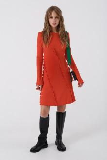 платье PiRS 3438 оранжевый