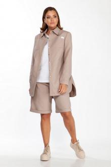 куртка,  шорты Belinga 2201 бежевые_тона