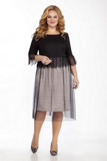 платье LaKona 1403 черный_с_бежевым