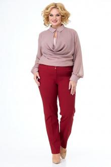брюки Anelli 856 вишня