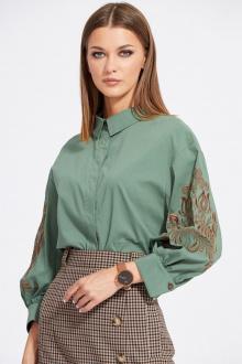 блуза EOLA 2066 хаки