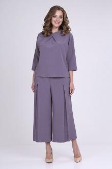 блуза,  кюлоты ELGA 12-715 сирень