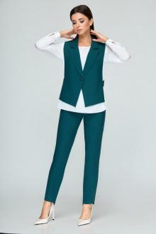 блуза,  брюки,  жилет Bonna Image 360 зеленый