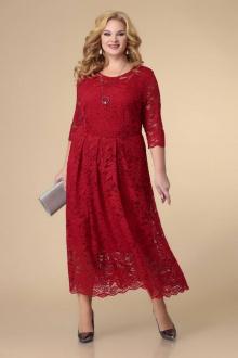 платье Romanovich Style 1-2221 красный