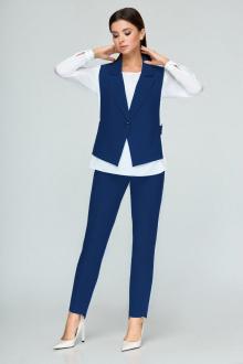 блуза,  брюки,  жилет Bonna Image 360 василек