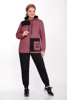 блуза,  брюки Bonna Image 546 розовый