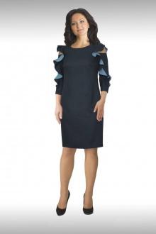 платье Effect-Style 638 синий