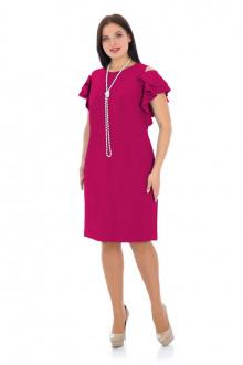 платье Effect-Style 665 брусничный