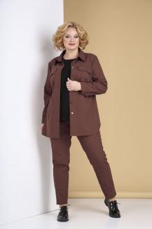 брюки,  рубашка,  футболка Tensi 316 красно-коричневый