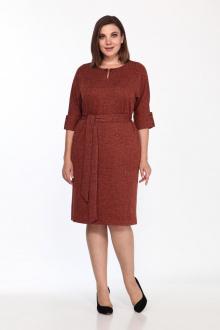 платье Lady Style Classic 1525/6 терракот