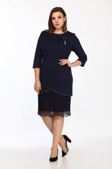 платье Lady Style Classic 1498 синий