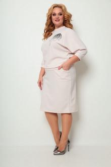 джемпер,  юбка Michel chic 1254 пудра